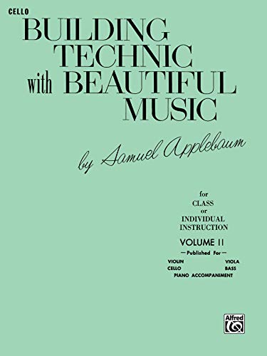 9780769231549: Building Technic With Beautiful Music, Bk 2: Cello