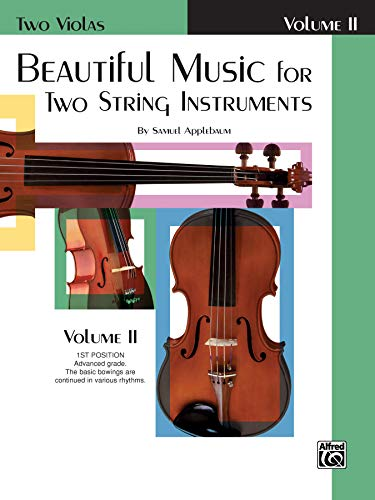 9780769231747: Beautiful Music for Two String Instruments, Bk 2: 2 Violas
