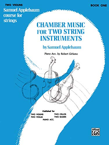 9780769231785: Chamber Music for Two String Instruments, Bk 1: 2 Violins