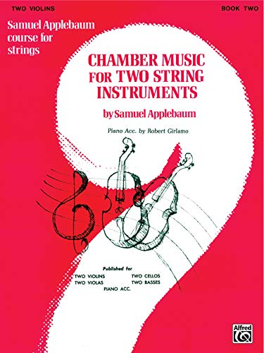9780769231792: Chamber Music for Two String Instruments, Bk 2: 2 Violins