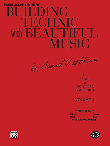 9780769232027: Building Technic With Beautiful Music, Bk 1: Piano Acc.