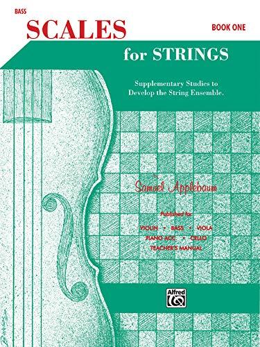 Scales for Strings, Bk 1: Bass (Paperback): Samuel Applebaum