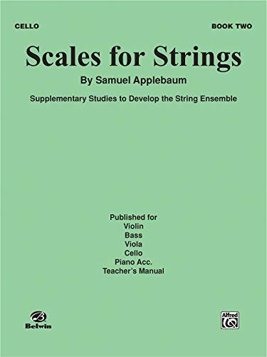 Scales for Strings, Bk 2: Cello (Paperback): Samuel Applebaum