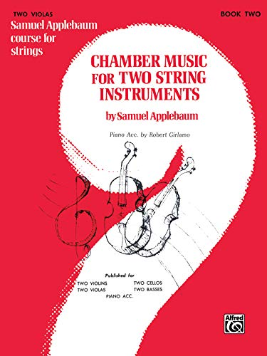9780769232584: Chamber Music for Two String Instruments: 2 Violas