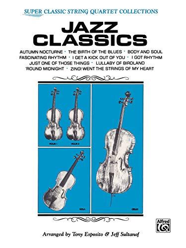9780769233062: Jazz Classics: Full Score & Parts (Classic String Quartets)