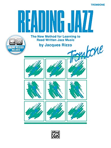 9780769233369: Reading Jazz: The New Method for Learning to Read Written Jazz Music (Trombone), Book & CD