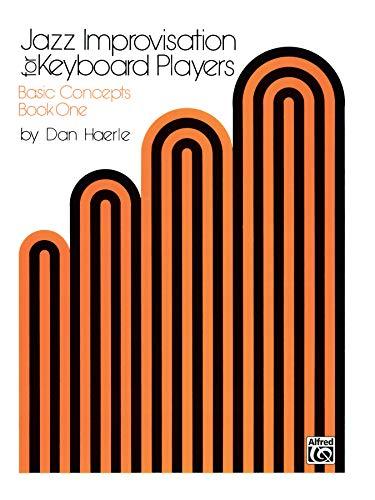 9780769233505: Jazz Improvisation for Keyboard Players Vol. 1: Basic Concepts