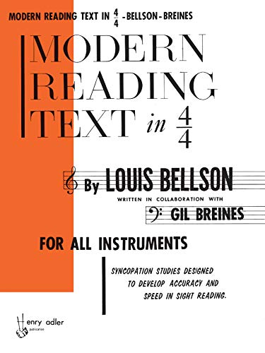 Modern Reading Text in 4/4: Louie Bellson (author),
