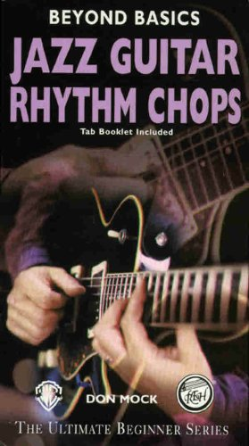 9780769234281: Beyond Basics: Jazz Guitar Rhythm Chops, Video with Book(s) [Alemania] [VHS]