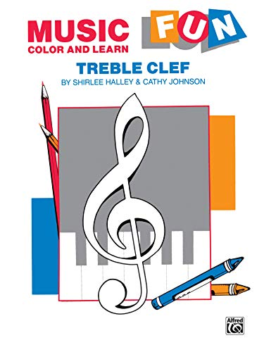 9780769234458: Music Fun Color and Learn: Treble Clef