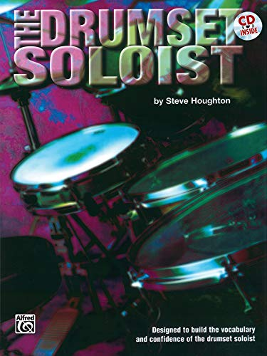9780769234700: Drum Set Soloist / Houghton