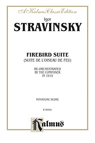 Firebird Suite (as Reorchestrated by the Composer