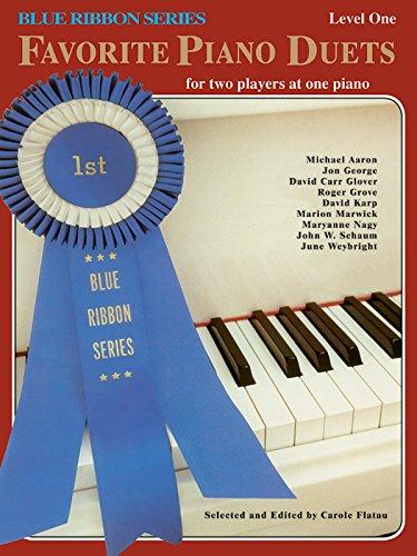 9780769236759: Favorite Piano Duets / Volume 1 - Level 1 (Blue Ribbon)