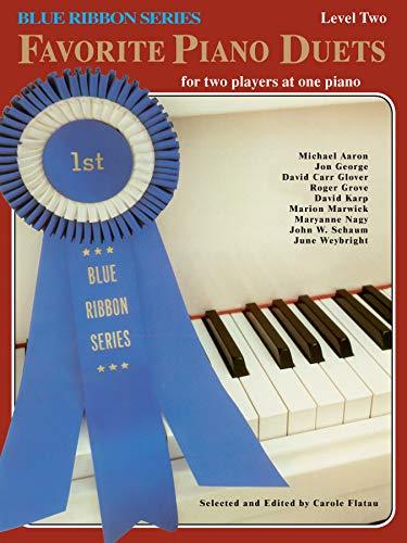 9780769236766: Blue Ribbon Favorite Piano Duets, Vol 1: Level 2 (The Blue Ribbon Series)