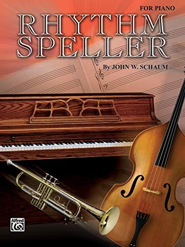 9780769237190: Rhythm Speller: For Piano (Schaum Method Supplement)