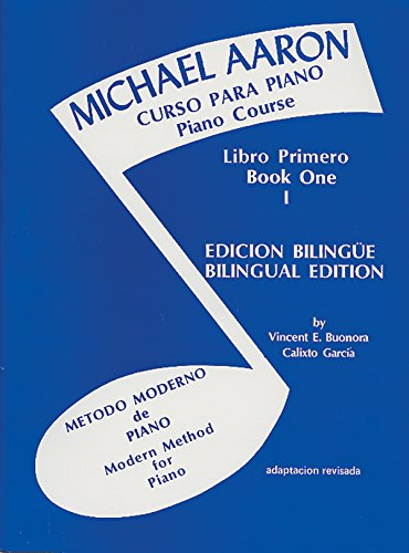 9780769237756: Michael Aaron Piano Course (Curso Para Piano), Bk 1: Spanish, English Language Edition