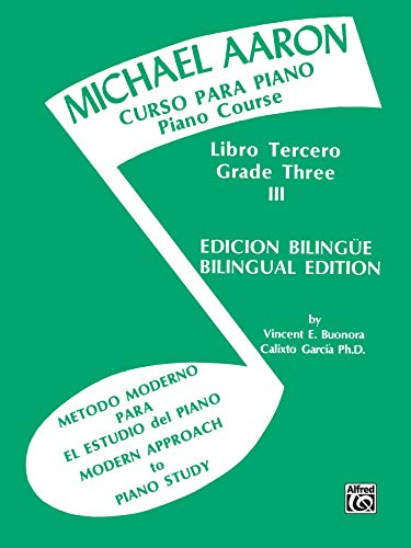 9780769238487: Michael Aaron Piano Course (Curso Para Piano), Bk 3: Spanish, English Language Edition