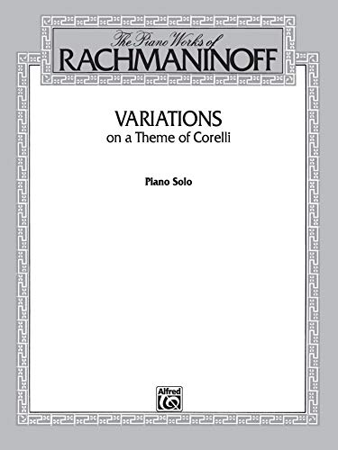 9780769239491: Variations on a Theme of Corelli (Belwin Edition)
