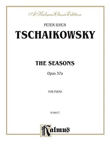 9780769240138: The Seasons, Op. 37A (Kalmus Edition)