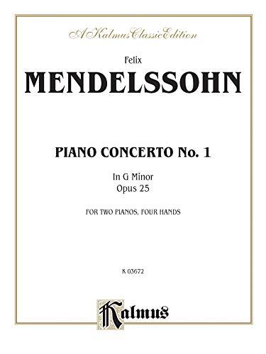 Piano Concerto No. 1 in G Minor, Op. 25 (Kalmus Edition): Alfred Music