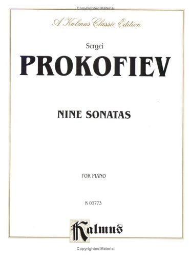 9780769240367: Prokofiev / Nine Sonatas for Piano Solo (Kalmus Edition)