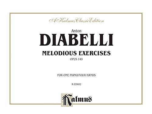 9780769240459: Melodious Exercises, Op. 149 (Kalmus Edition)