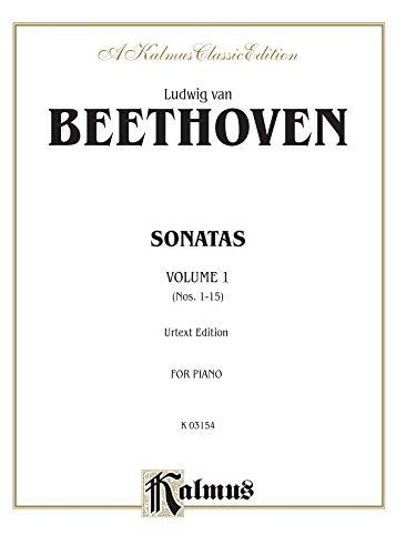 9780769240909: Sonatas, Vol. 1: Nos. 1-15 (Urtext Edition, for Piano)