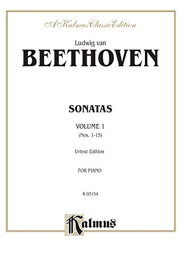 9780769240909: Sonatas, Vol. 1: Nos. 1-15 (Urtext Edition, for Piano)