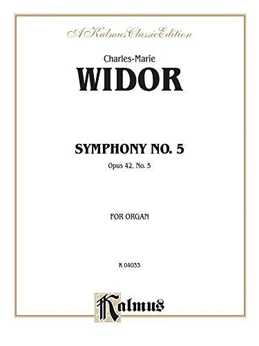 9780769242743: Symphony No. 5, Op. 42 (Kalmus Edition)