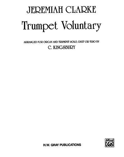 9780769243221: Trumpet Voluntary: Organ & 1, 2 or 3 Trumpets, Sheet (H. W. Gray)