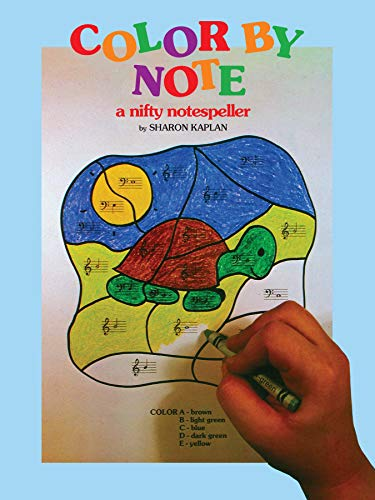9780769243450: Color by Note, Bk 1: A Nifty Notespeller