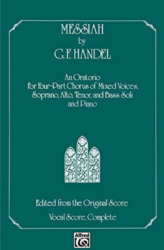 9780769243870: Messiah: SATB Chorus & Soli, Comb Bound Book (Belwin Edition)