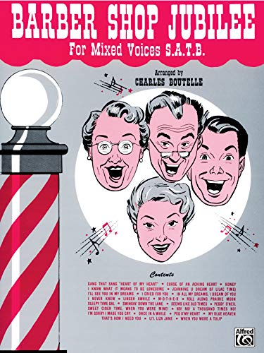 9780769243887: Barber Shop Jubilee: Mixed Voices (SATB)