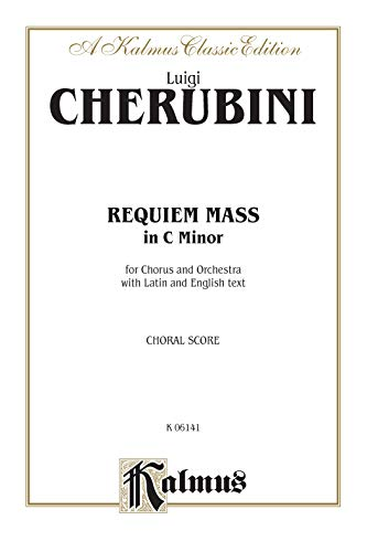 9780769244426: Requiem Mass in C Minor: Satb (Orch.) (Latin, English Language Edition) (Kalmus Edition)