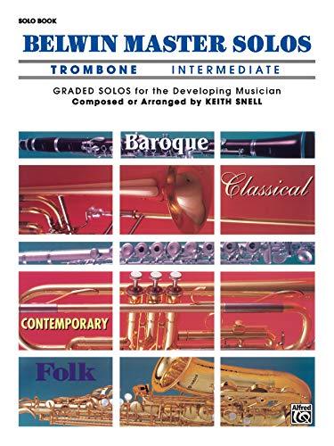 9780769244617: Belwin Master Solos (Trombone), Vol 1: Intermediate