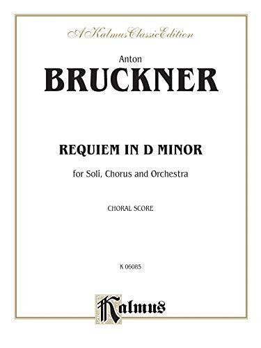 9780769244709: Requiem in D Minor: SATB with SATB Soli (Orch.) (Latin Language Edition) (Kalmus Edition) (Latin Edition)
