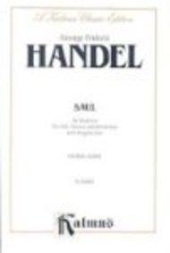 9780769245508: Saul (1739): SATB with SSATTTTTBBBB Soli (English Language Edition) (Kalmus Edition)