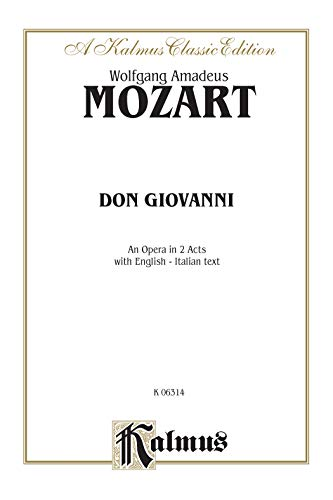 9780769246222: Don Giovanni, Kalmus Edition