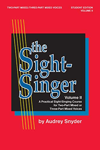 Sight Singer II : Mixed: Audrey Snyder