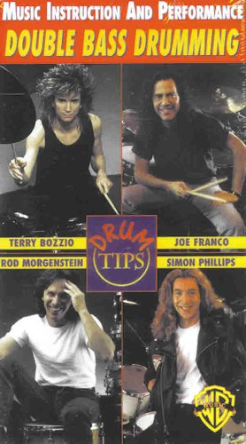 9780769247632: Drum Tips -- Double Bass Drumming: Music Instruction and Performance, Video [Alemania] [VHS]