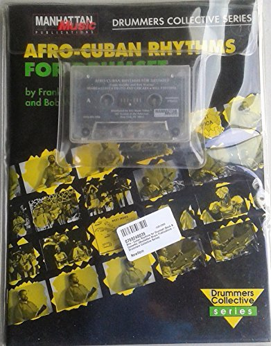 9780769248035: Afro-Cuban Rhythms for Drumset (Book & Cassette) (Manhattan Music Publications - Drummers Collective Series)