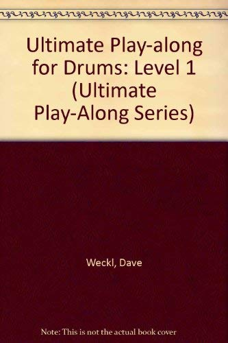 9780769248042: Ultimate Play-Along for Drums, Vol 1: Level 1 (Book & Cassette)