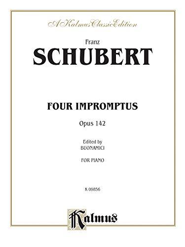 9780769249803: Schubert 4 Impromptus Op.142