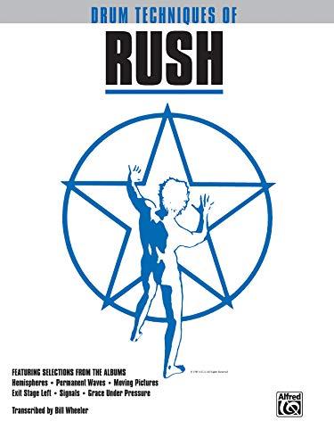 Drum Techniques of Rush: Drum Transcriptions (Paperback)