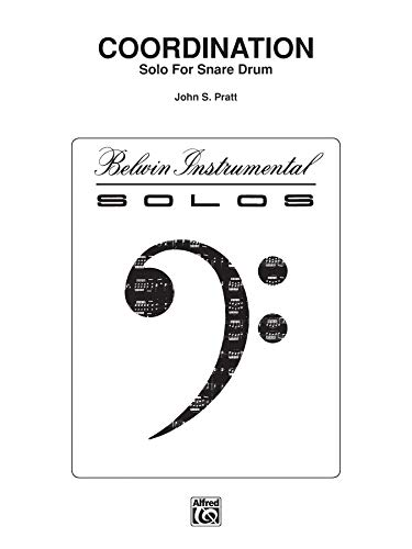9780769251271: Coordination: Part(s) (Belwin Instrumental Solos)