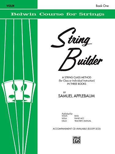 9780769251424: String Builder Violin Book One (Belwin Course for Strings)