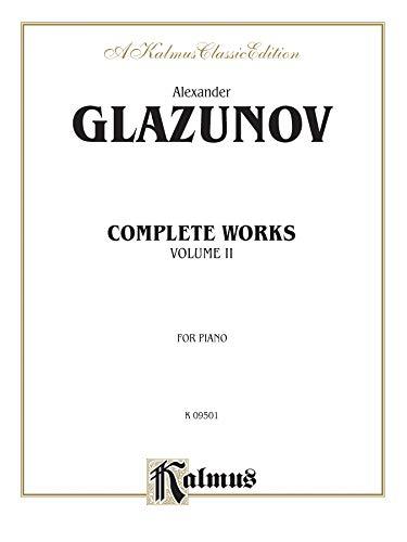 9780769252018: Glazounov Complete Works