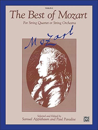 The Best of Mozart: Alfred Publishing; Samuel Applebaum [Editor]; Paul Paradise [Editor];