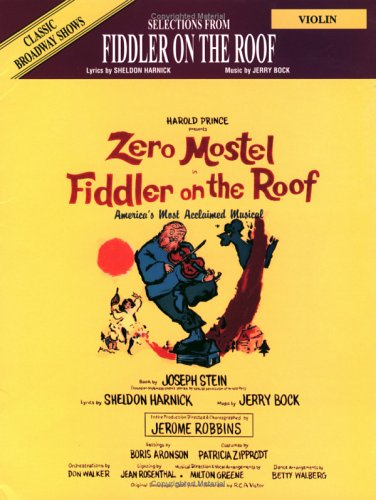 9780769252155: Selections From Fiddler on the Roof: Violin