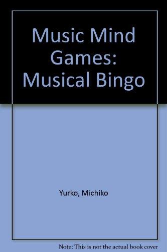 9780769253688: Music Mind Games Musical Bingo